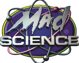 Mad science logo 3d 320